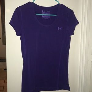 Women's Under Armour Charged Cotton Heat Gear Top